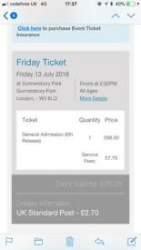 Friday Lovebox ticket for sale