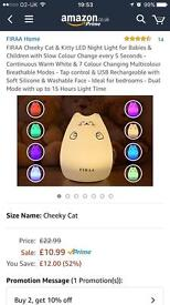 Brand new kitty LED nightlight