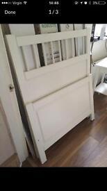 Single Bed Frame & Bedside Table NO MATTRESS