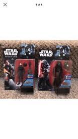 Star Wars figures new x 2
