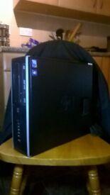 PC WINDOWS 10/64 BIT /HP 8000 elite/ core 2 duo/ DVD/RW/ tower only