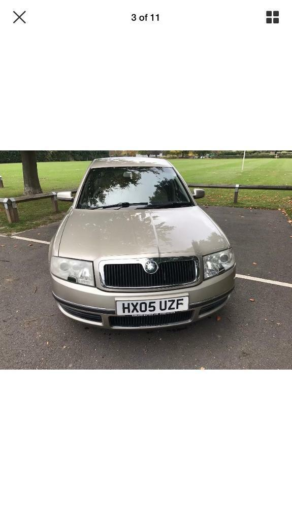 Skoda superb 2005 v6 tdi