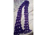 Handmade knitting scarf for sale!