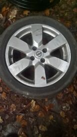 Nissan Note set of 4 alloy wheels 16""