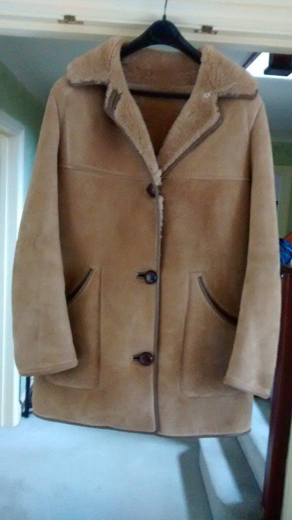 Used Sheepskin Coat
