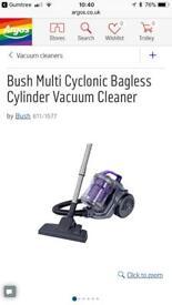 Bush hoover vacuum bagless