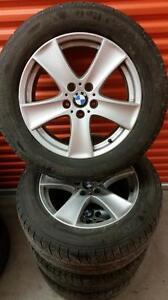 (165) Pneus Hiver - Winter Tires 255-55-18 Michelin