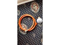 New low pressure gas hose and connector butane
