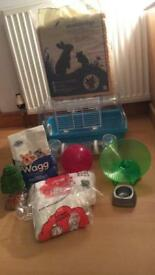 Hamsters cage and accessories