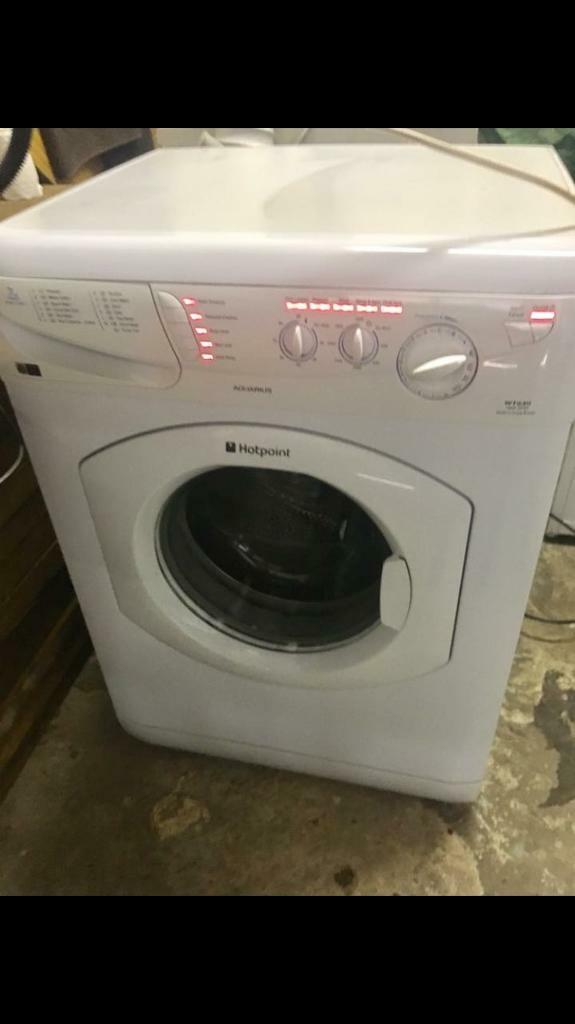 HOTPOINT AQUARIUS WASHING MACHINEin Cwmbran, TorfaenGumtree - Hotpoint Aquarius washing machine.1400 spin7kg family loadMint working order.Lovely condition .. good as new