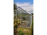 Large Aluminium Greenhouse