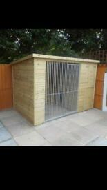 Dog kennel brand new 8x4 £500