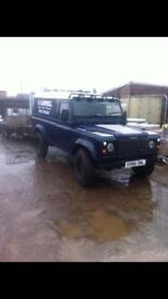Landrover defender 110 with I for Williams trailer. MOT due 26.09.18