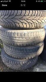 Wheels 165/70/r14