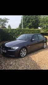 BMW 320d m sport 57 plate
