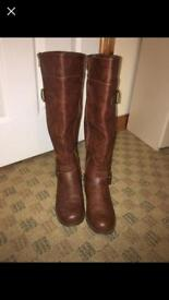 Parva Boots from Justfab (Size 5/6)