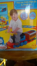 thomas the tank engine ride on train