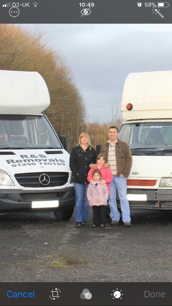 Man and Van Services - Ayrshire