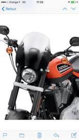 Harley Davidson XR1200 sport wind screen