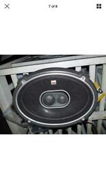 JBL GTO938 6 x 9-Inch 3-Way Loudspeakers 300w
