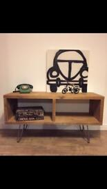 Lovely hand made industrial style tv cabinet/media unit-different sizes upon request