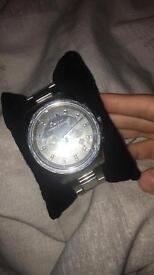 Armani exchange silver watch