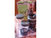 Nutribullet - almost new!