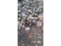 Assorted Stones Cobbles and Rocks 50p