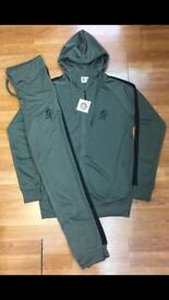 New gym king full slim fit tracksuit s to xxl only £35