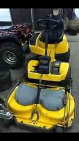 Stiga park comfort ride on lawnmower