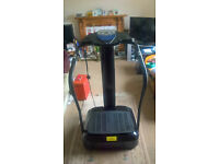 2000W CRAZY FIT Vibration Massage Machine POWER PLATE in Black