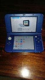 New style Nintendo 3ds xl blue