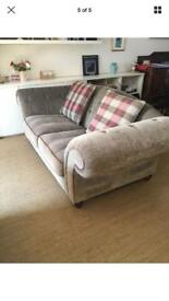 Large chesterfield style sofa