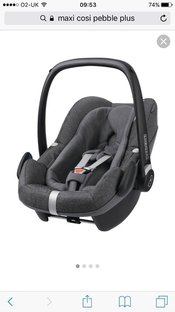 Maxi Cosi Pebble Plus Car Seat with infant insert | in Canary Wharf ...