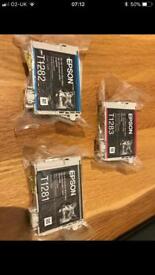 Epsom fox printer ink brand new in packaging
