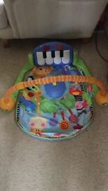 Fisher Price play mat, kick and play musical mat