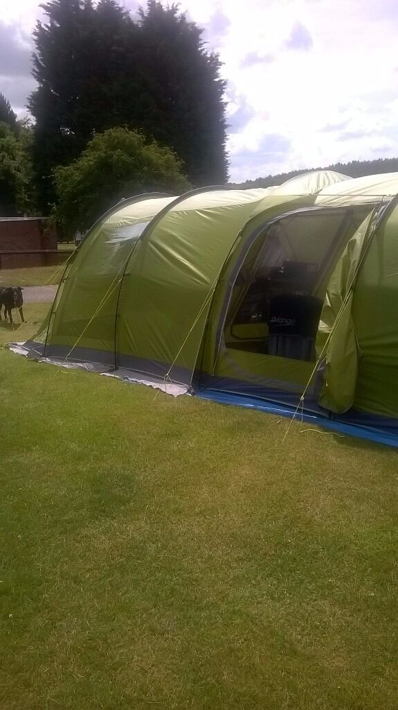 Vango Icarus 500 2xbedroom 4 5 Person Tent With Awning