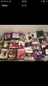 250-300 football programmes