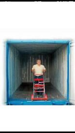 Shipping Storage container rental. From £16 pw. No vat.