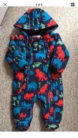 Baby Boy Snowsuit. Size 3-6 months. M&S.