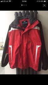 Boys/youth red & black ski outfit age approximately 14 years