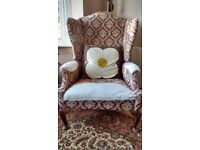 FREE wing back armchair