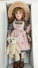 Brand New Large Vintage Collectable Alberon Doll.