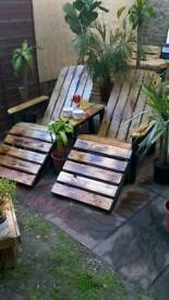 Amazing multi function garden chair.