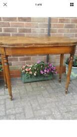 Edwardian tea table