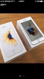 iPhone 6s white/gold
