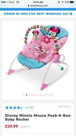 Minnie mouse rocker