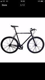 Dunlop fixed gear city road bike