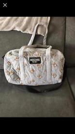 Moschino baby changing bag