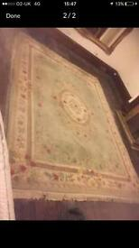 Very large Persian style rug